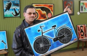 fiets herman van Veen