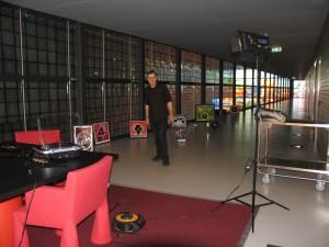 beeld en geluid in Beeld & geluid Hilversum.