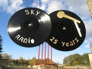 Sky radio award voor 25 jaar radi