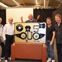 Status Quo-award voor 50 jaar Rock&roll